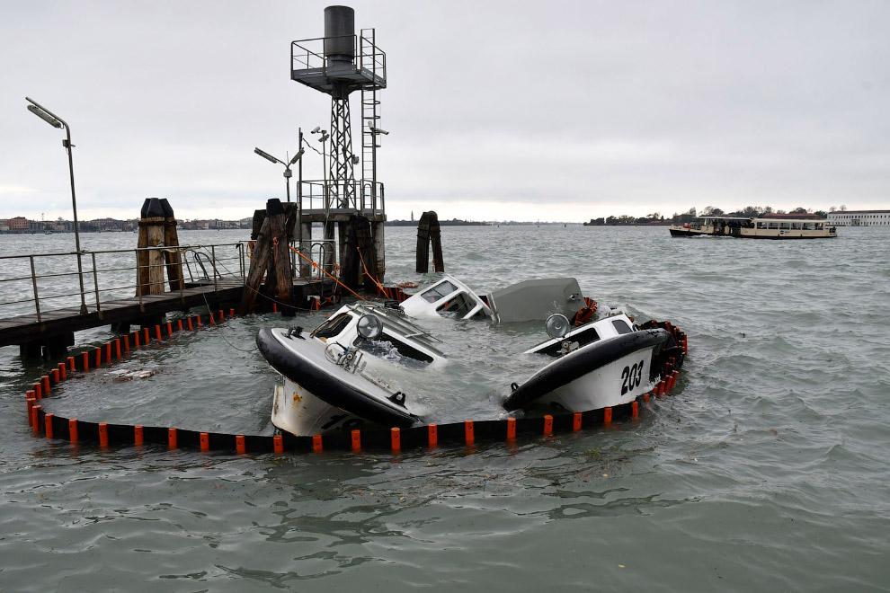 Наводнение в Венеции 2019