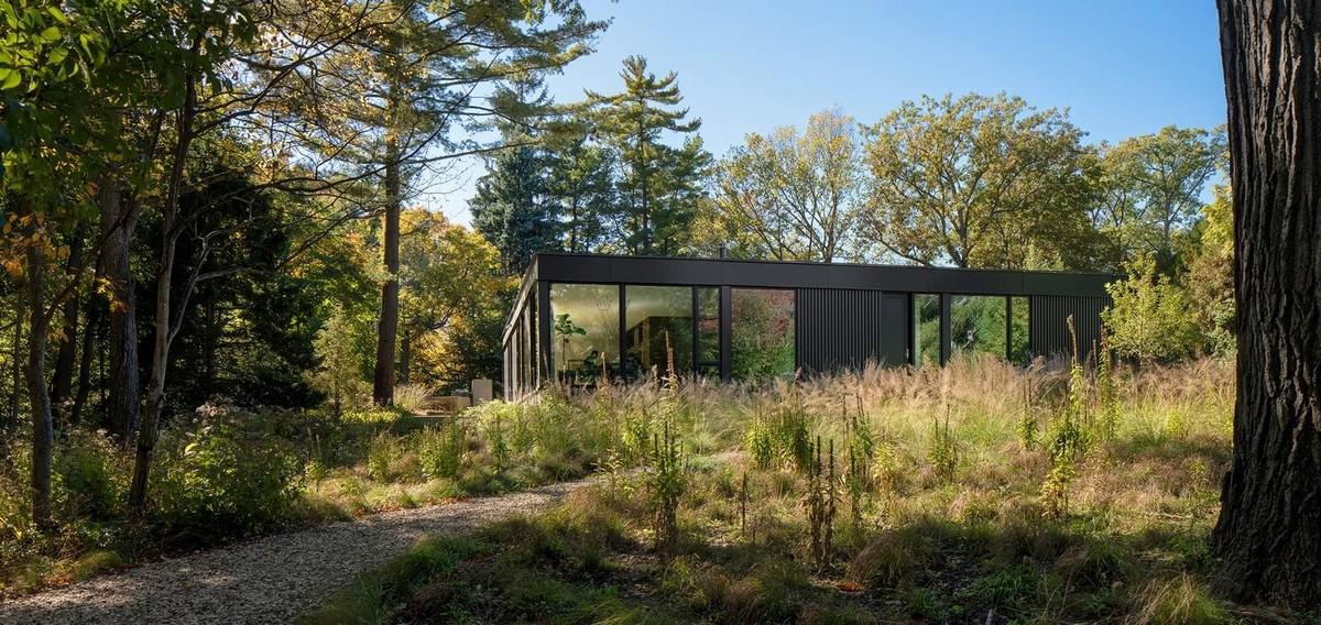 Частный дом в окружении природы для семейной пары в США