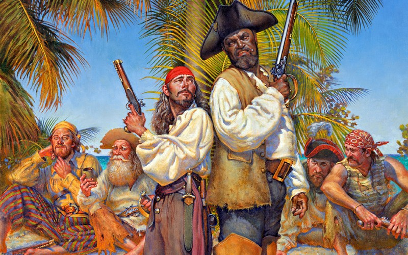 Самые известные пираты в истории мировых океанов