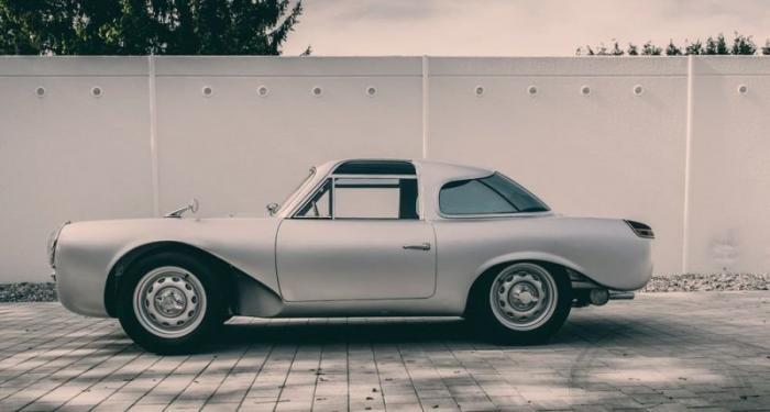 Gloeckler-Porsche 356 Coupe 1954 года