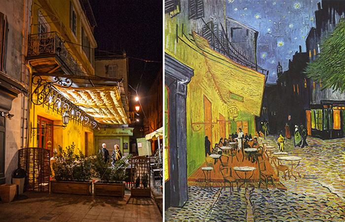 Как связана картина Кафе Ван Гога с сюжетом Тайной Вечери