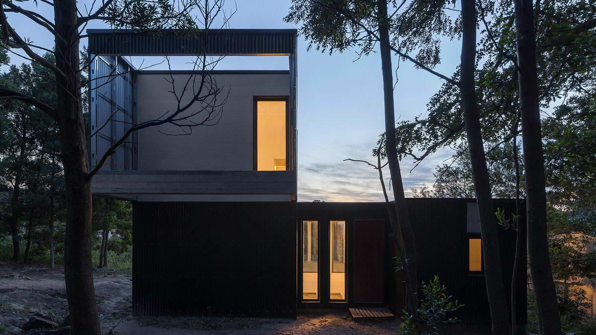 Минималистский дом для семейной пары в Аргентине