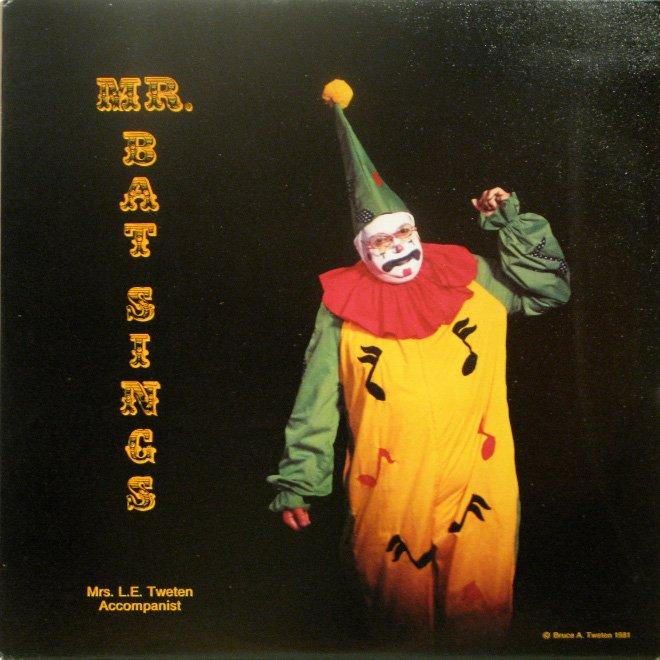 Обложки старых пластинок с изображением клоунов