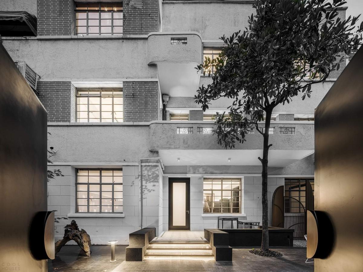 Старое здание с новым дизайном в Китае