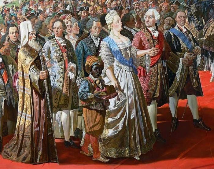 Жизнь и должности арабов при царском дворе