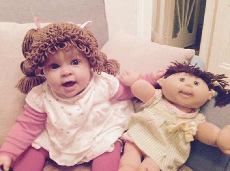 20 детей, которые нереально похожи на своих кукол