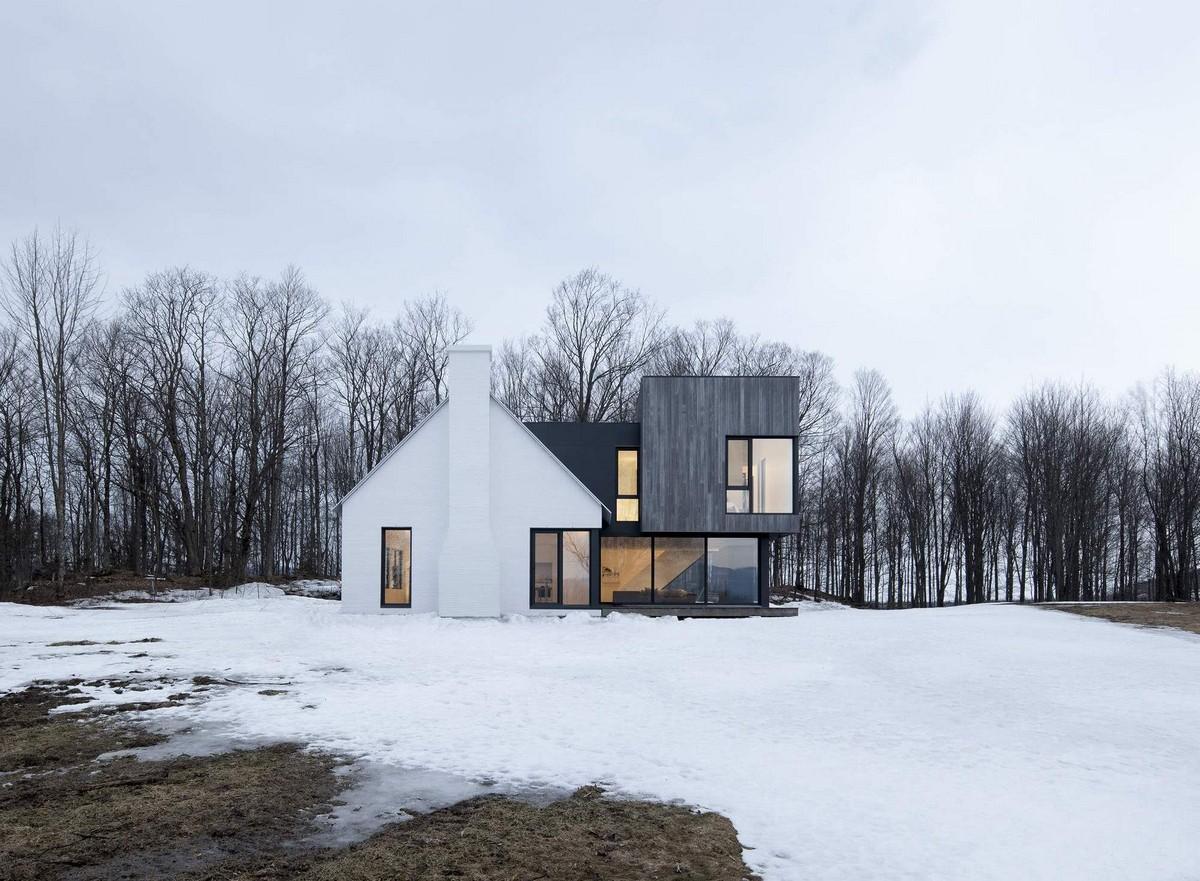Минималистическая резиденция в Канаде