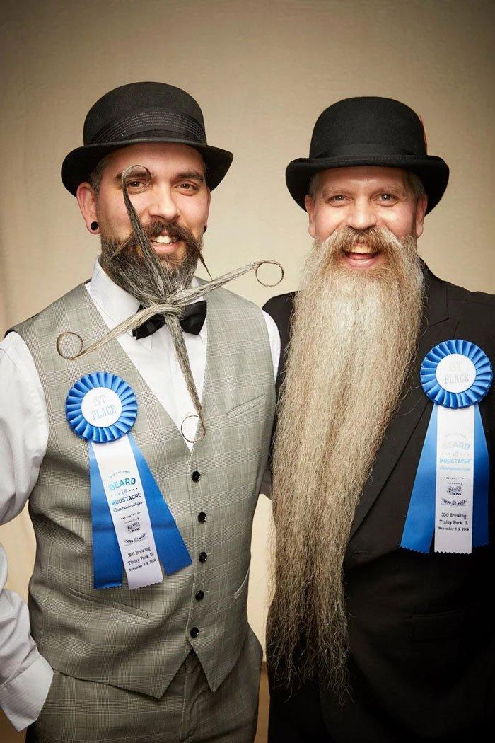 Крутые участники чемпионата по бороде и усам 2019 года