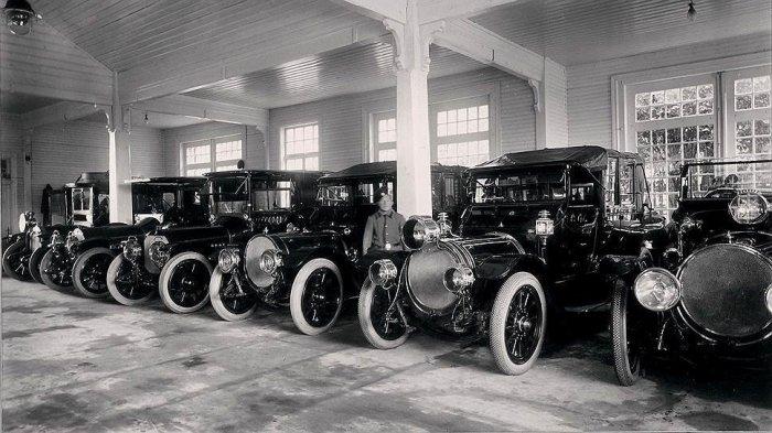 Машины автопарка императора Николая II