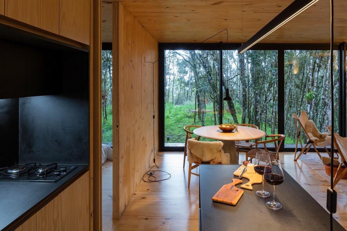Модульный дом в бразильском лесу