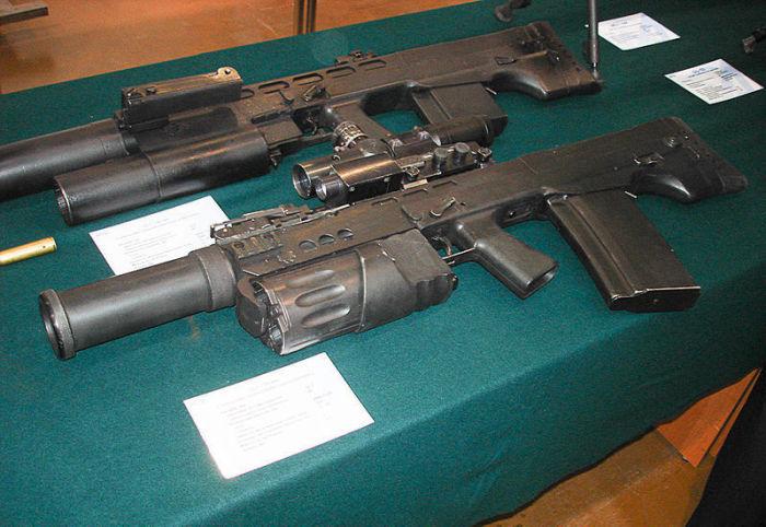 Штурмовой автомат АШ-12: грозное оружие для ФСБ
