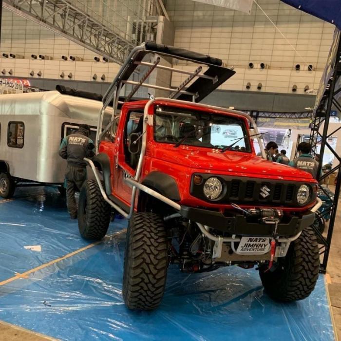Японские студенты превратили Suzuki Jimny во внедорожного монстра