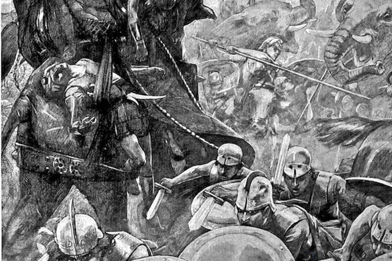 Самые удачные военные тактики, которые использовались в сражениях