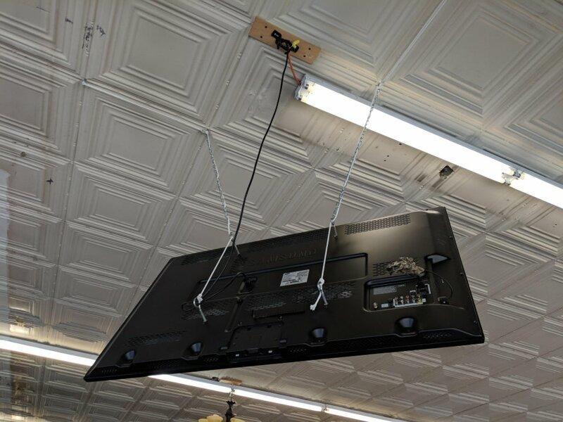 Когда телевизор был плохо закреплен