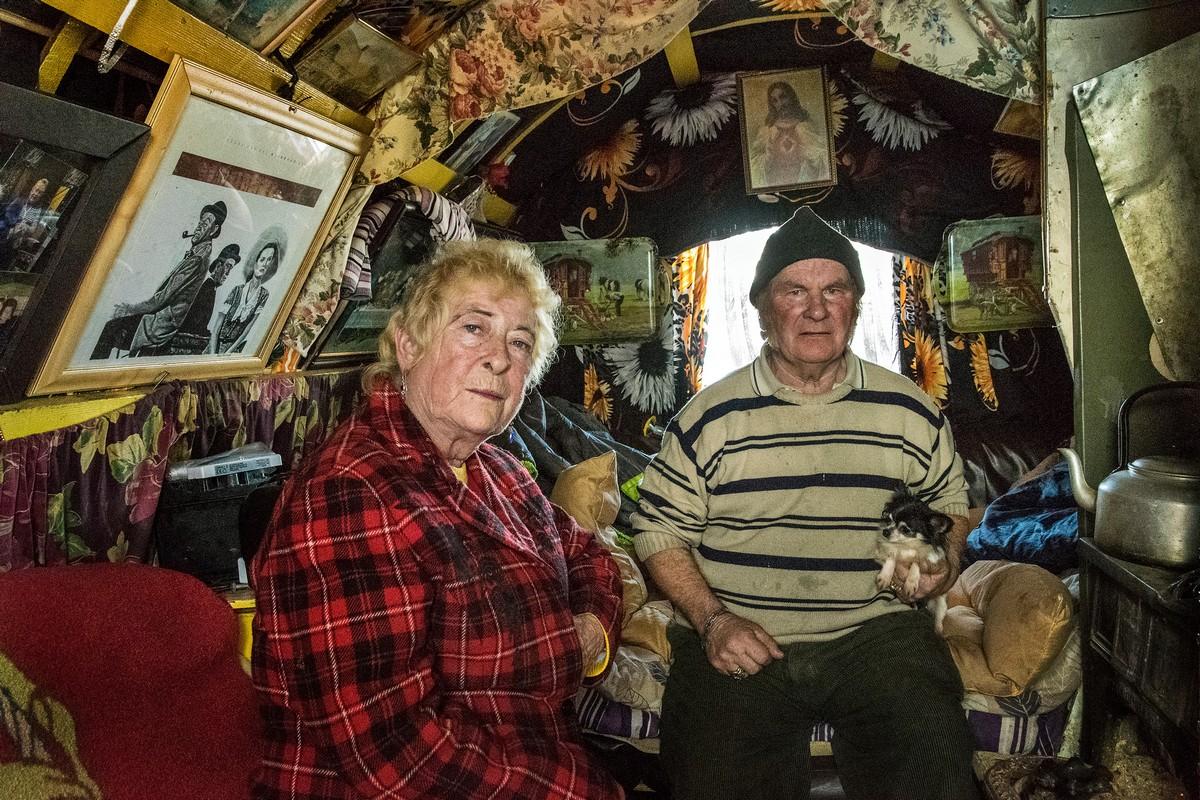 Жизнь ирландских цыган в портретах Жозефа Филиппа Бевилларда