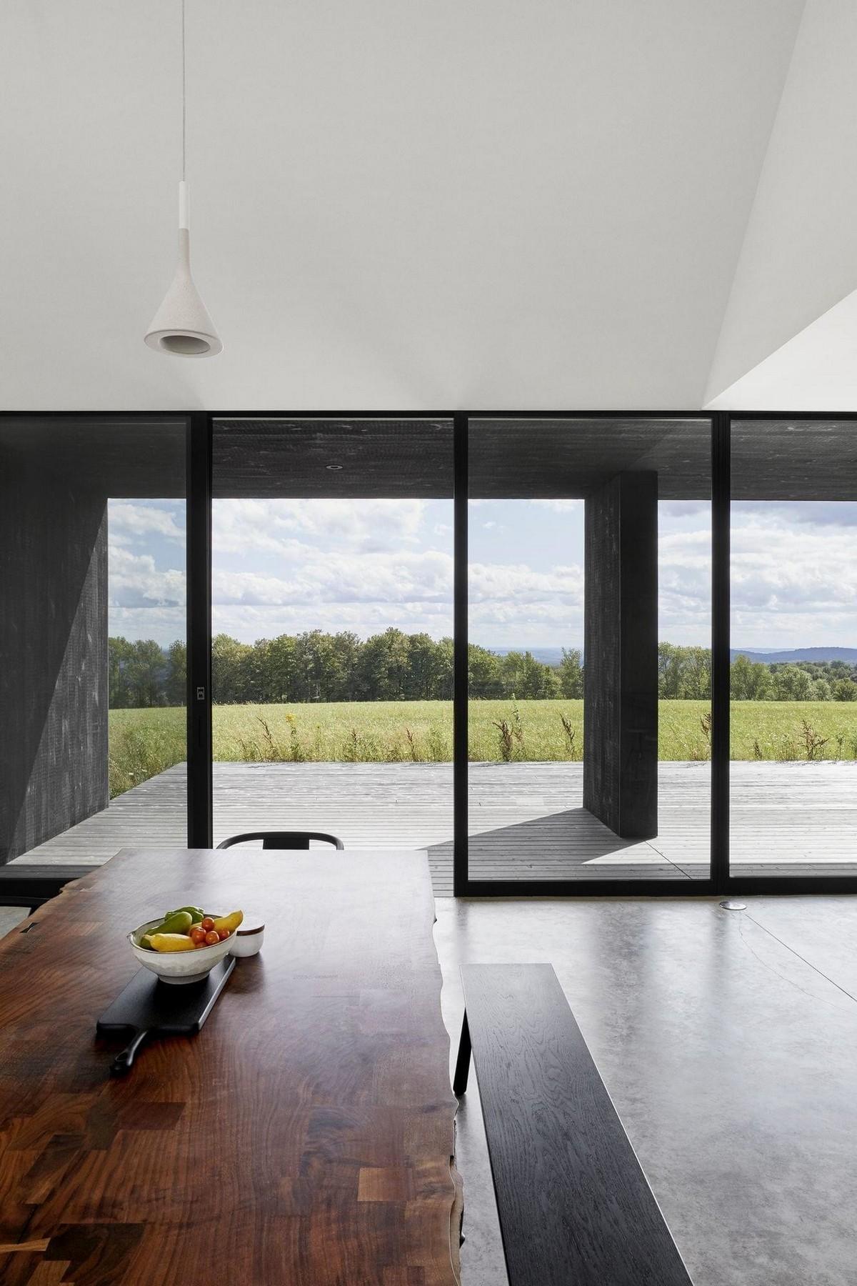 Частный дом в сельской местности штата Нью-Йорк