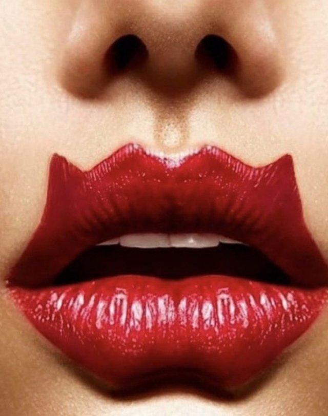 Губы дьявола - новый тренд, который вы захотите развидеть