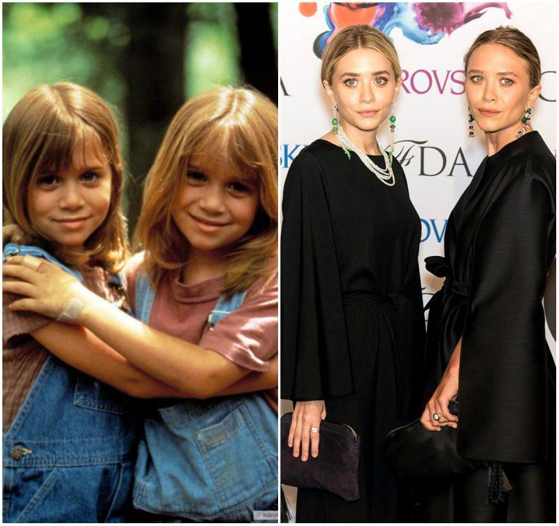 Знаменитые актеры в юности и сейчас