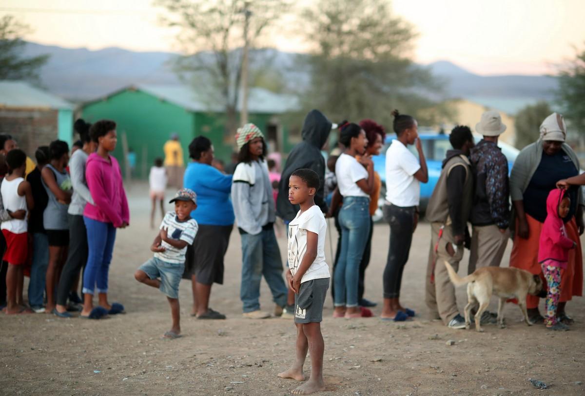 Сильнейшая засуха за сто лет на юге Африки
