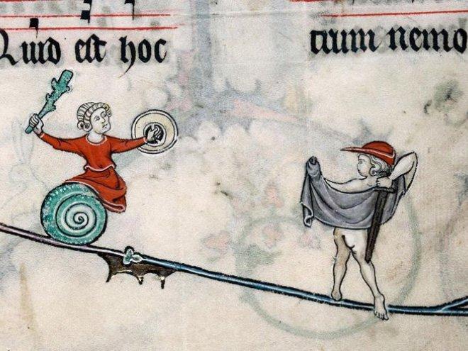Странные средневековые битвы с улитками
