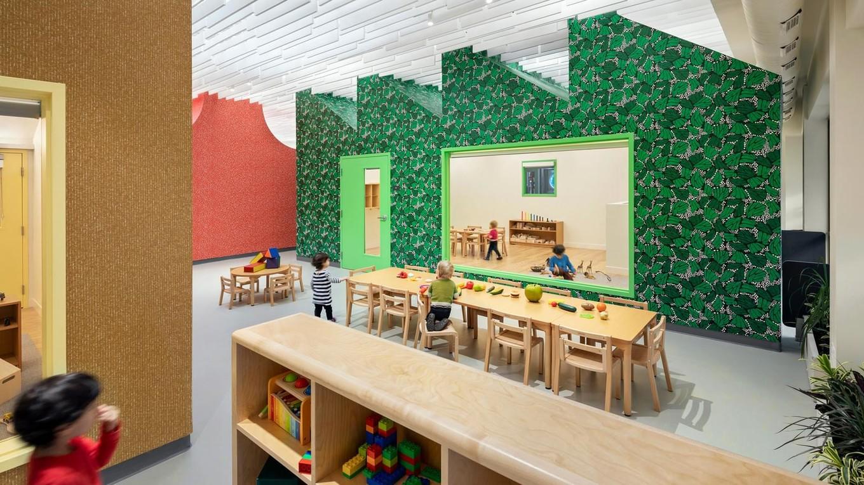 Детский образовательный центр в пригороде Бостона