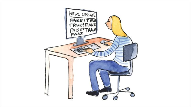 Как распознать неправду в Интернете