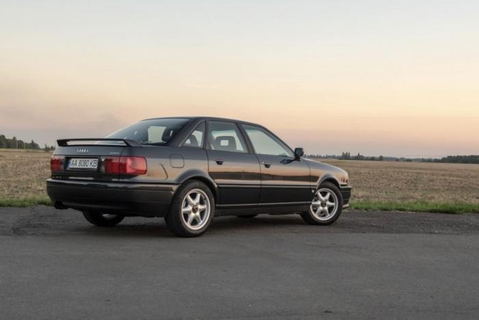 Редкая Audi 80 Quattro Competition с небольшим пробегом