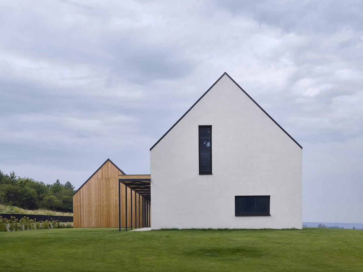 Современная интерпретация традиционного сельского дома в Словакии