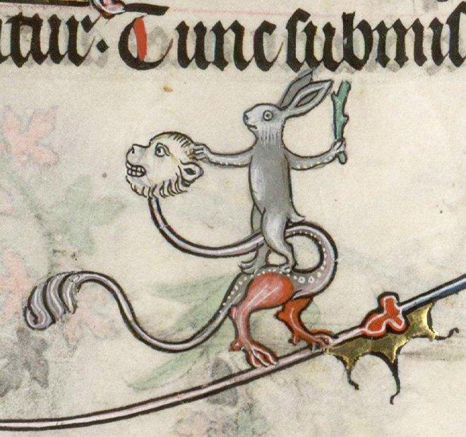 Воинствующие кролики из Средневековья