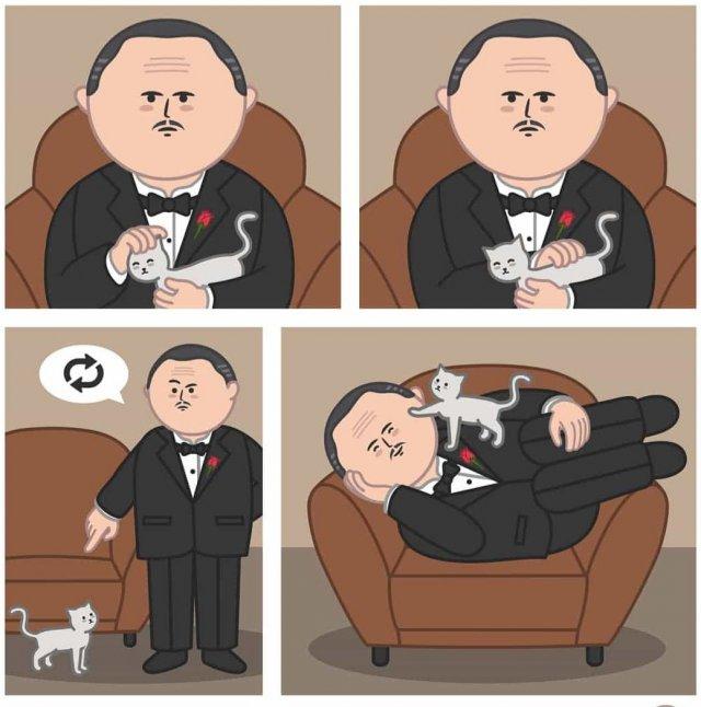 Забавные и абсурдные мини-комиксы итальянского художника Disse