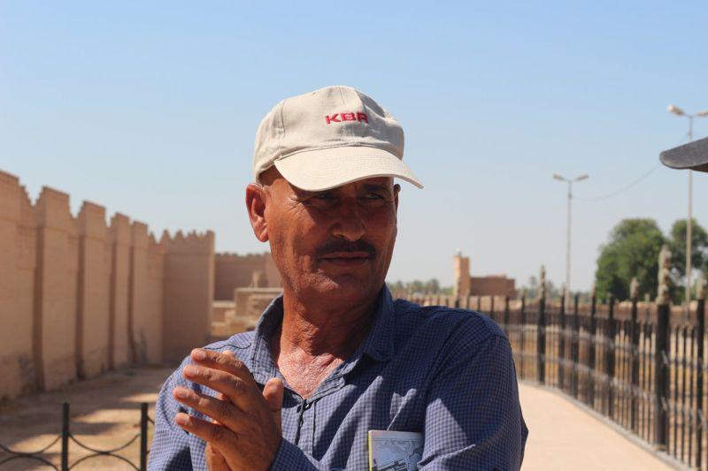 Внутри заброшенного Вавилона, построенного Саддамом Хусейном