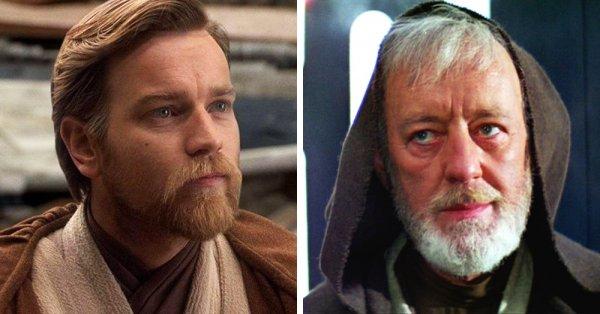 Актеры, сыгравшие роль одного и того же персонажа в разном возрасте