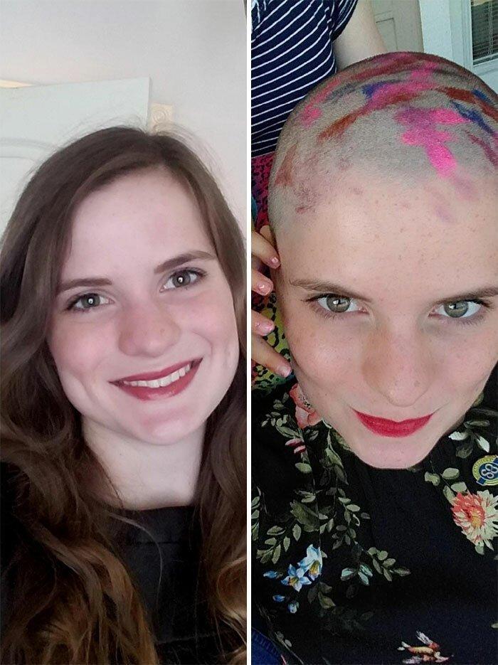 Люди жертвуют свои волосы на парики для онкобольных волосы, парики, благотворительные, организации, детей, чтобы, отдать, отращивал, больше, раком, маленькой, Пусть, волос, больных, решил, отдала, назад, принцессы, какойнибудь, будет
