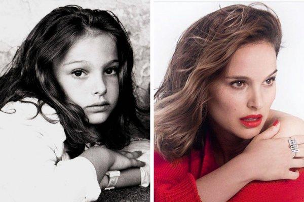 Снимки знаменитостей в детстве