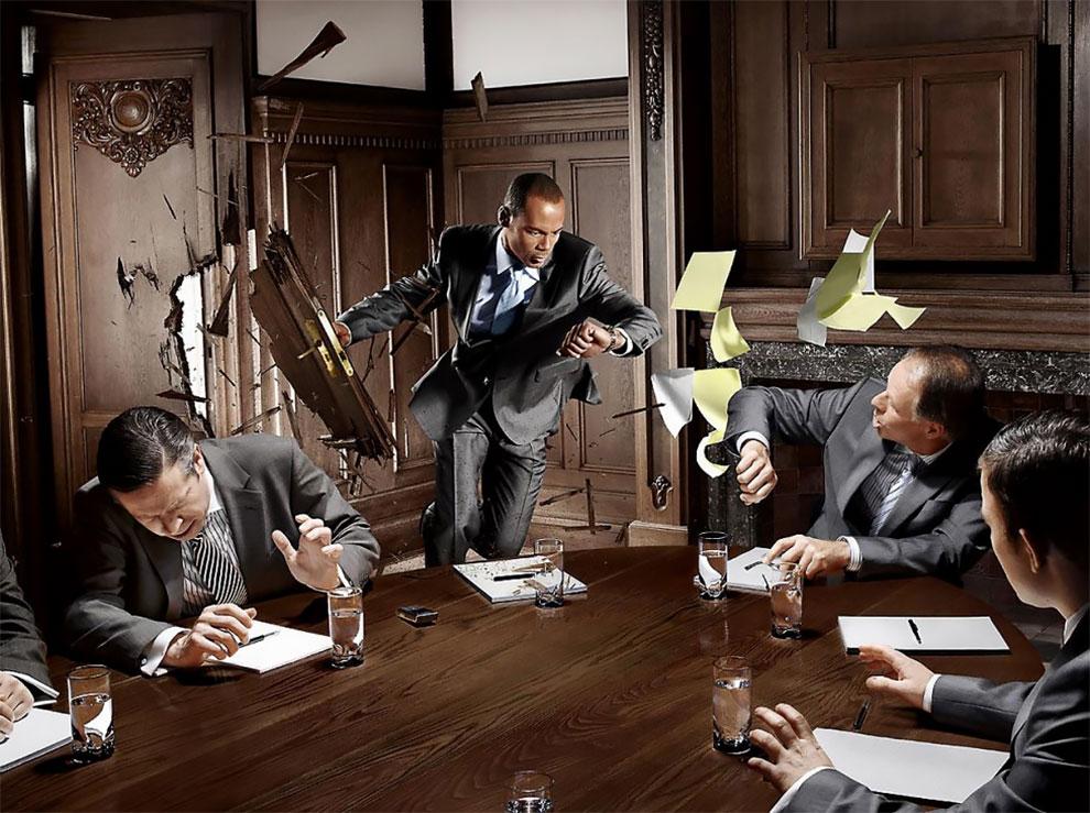 Юмористические и рекламные фотоработы Франка Уйттенхове
