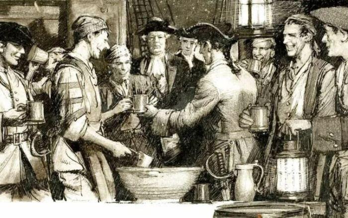 Где раньше брали пресную воду для членов экипажа корабля