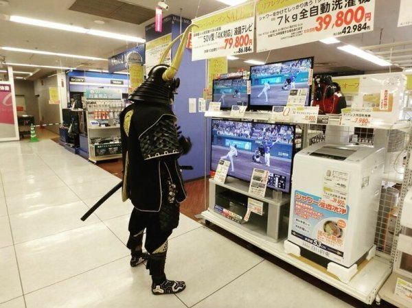 Необычный самурай - путешественник во времени