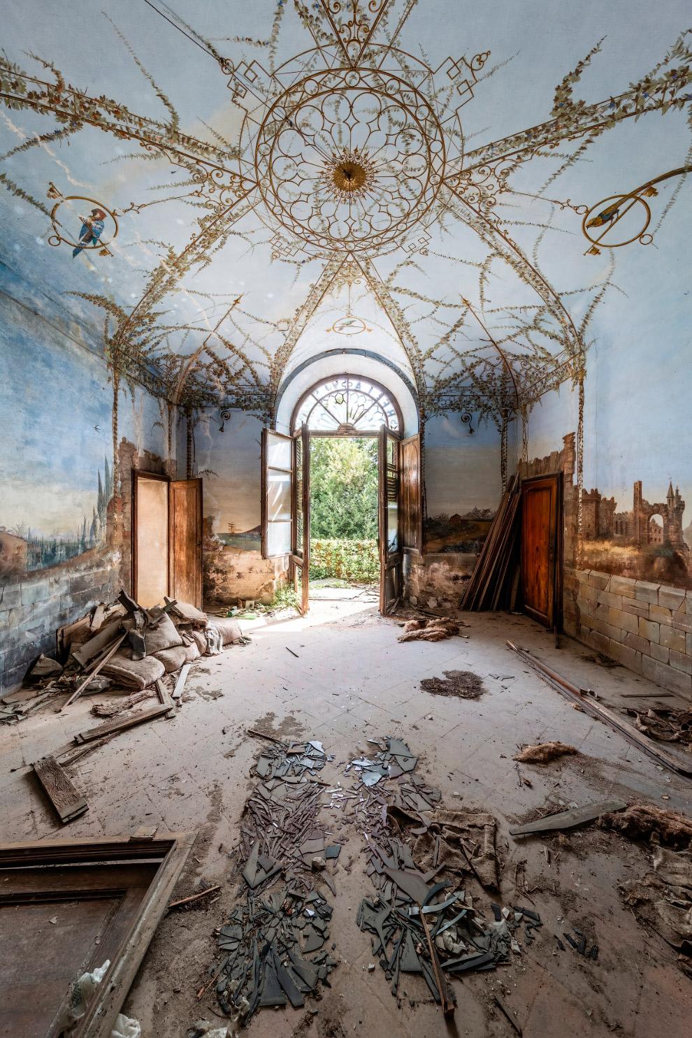 Заброшенная Европа на снимках