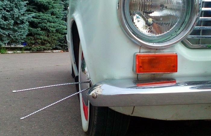 Зачем были нужны загадочные усы на бампере старых авто