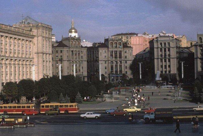 Украинская ССР в 1988 году на снимках