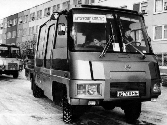 Редкий советский автобус КАвЗ: полный привод и модульная конструкция