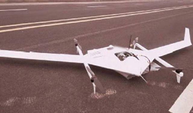 Китайский дрон на спирте установил рекорд в воздухе