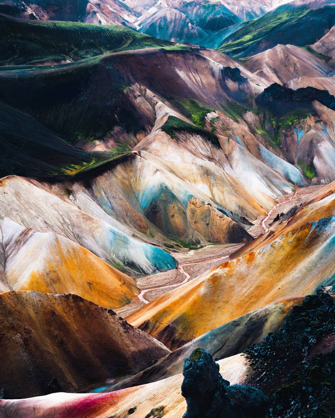 Природа и путешествия на снимках Кинана Лама
