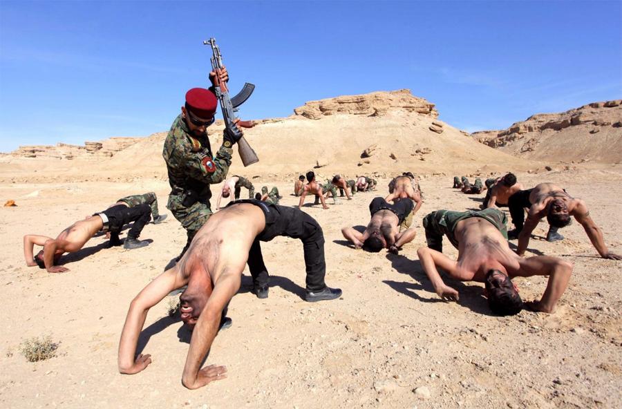 Суровые тренировки бойцов элитных подразделений разных стран