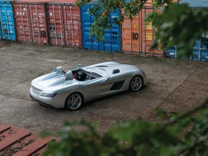 Mercedes-Benz SLR McLaren Stirling Moss с минимальным пробегом