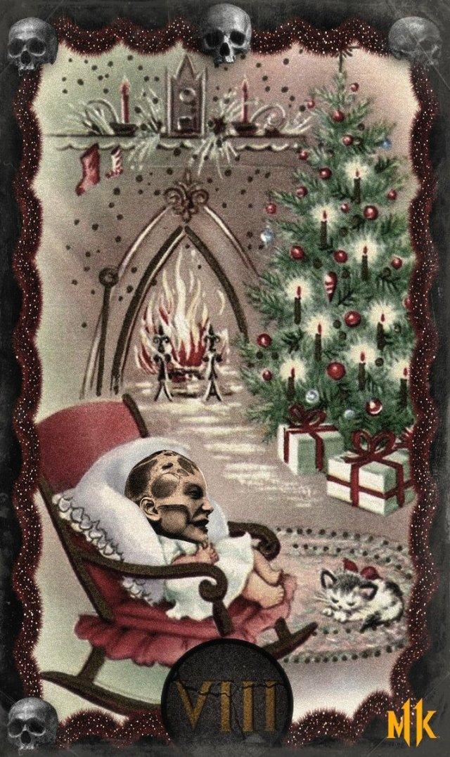 Новогодние открытки от разработчиков игры Mortal Kombat