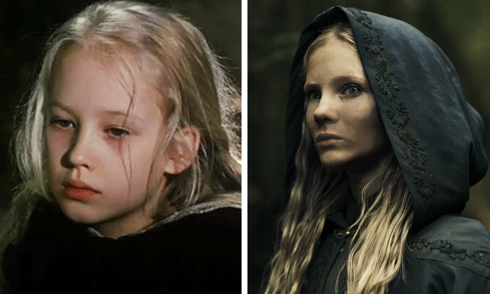 Персонажи сериала Ведьмак тогда и сейчас