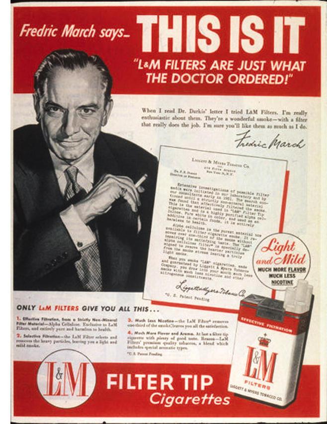 Как табачные компании использовали врачей