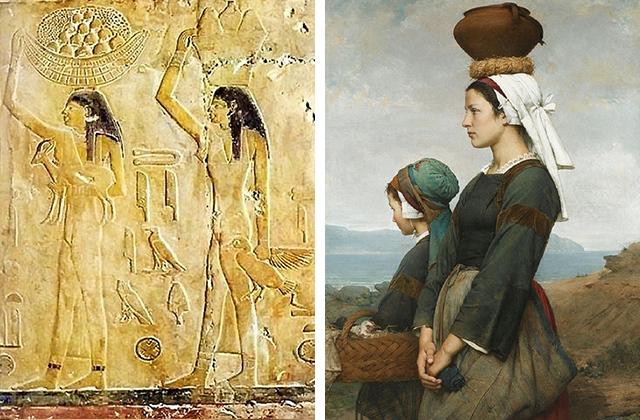 Откуда пошла традиция переносить грузы на голове