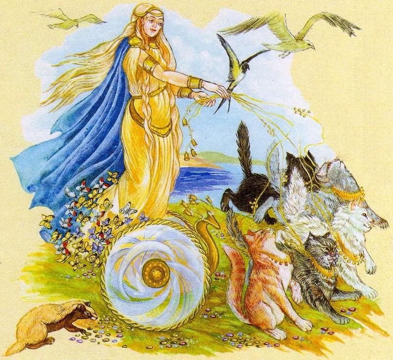 делением фрейя богиня любви картинки календаря цифрой шесть